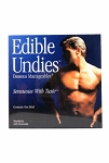 Edible Undies Male Strawberry and Chocolate