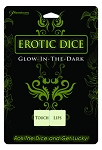 Erotice Dice Glow in the Dark