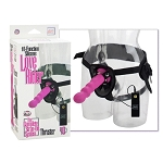 10-Function Silicone Love Rider Thruster - Pink