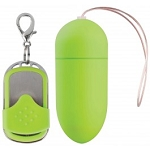 Shots Toys 10 Speed Remote Vibrating Egg Big Green
