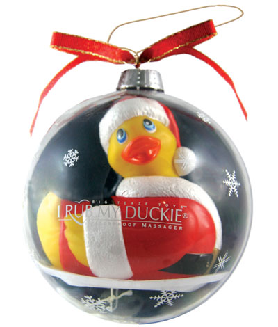 3 rub her ducky to your hearts desire because this rubber ducky vibrates - Christmas Sex Toys