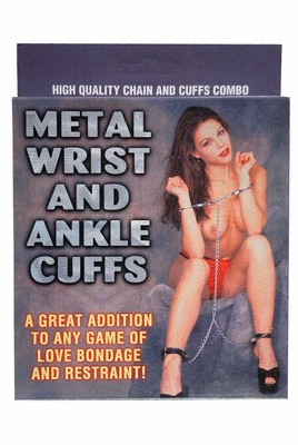 Wrist and AnkleCuffs Metal