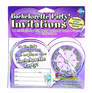 Bp Party Sexy Spinner Invitations