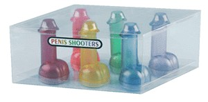 Set of 6 Penis Shooters