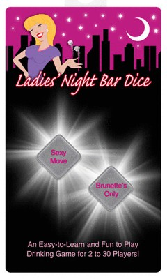 Ladies Night Bar Dice