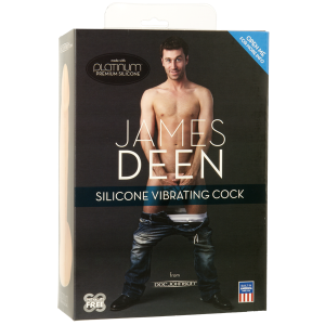 James Deen Signature Silicone Vibrating Cock