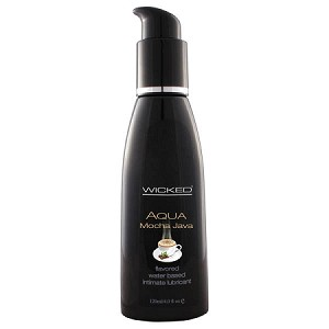 Wicked Aqua Mocha Java Flavoured Lubricant