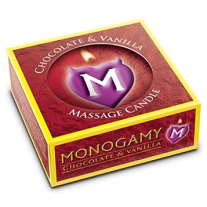 Monogamy Chocolate & Vanilla Passionate Massage Candle 25g
