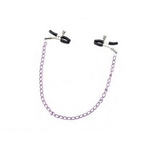 Seven Creations Purple Nipple Chain